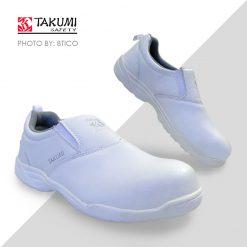 Giày bảo hộ Nhật Bản - Takumi TSH-125 WHT