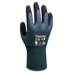 Takumi SG-610 - Găng tay nylon phủ Nitrile (Max-Grip)